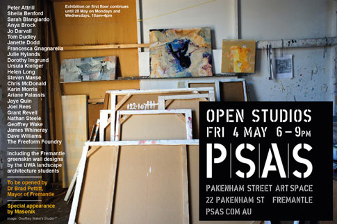 psas open studio